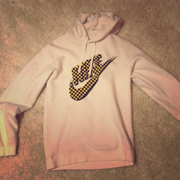 nike checkered hoodie